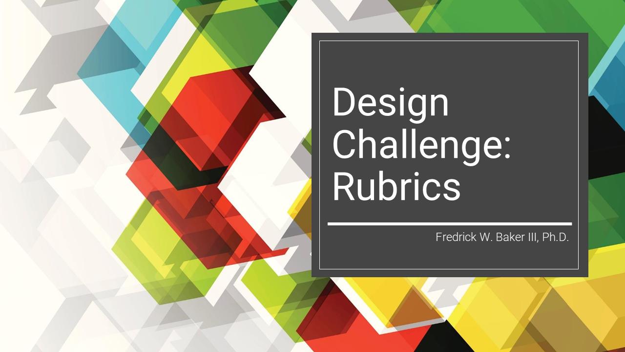 Design Challenge Active Learning Professional Development