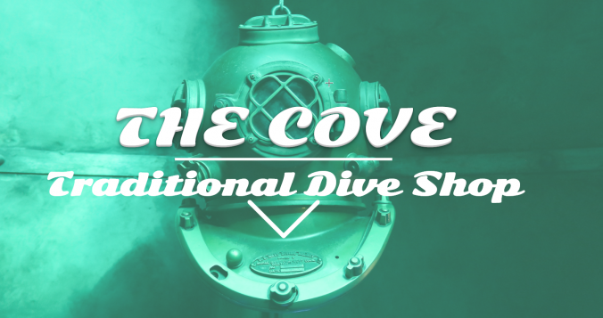 The Cove Dive Shop Demo Site