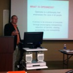 Fred Baker presenting at COTL 2013